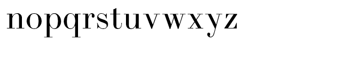 LTC Bodoni 175 Regular Font LOWERCASE