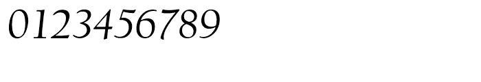 LTC Californian Text Italic Font OTHER CHARS