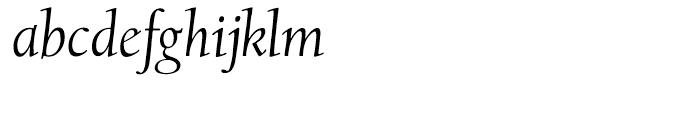 LTC Californian Text Italic Font LOWERCASE