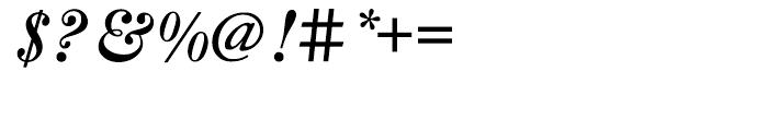 LTC Caslon Bold Italic Font OTHER CHARS