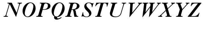 LTC Caslon Bold Italic Font UPPERCASE