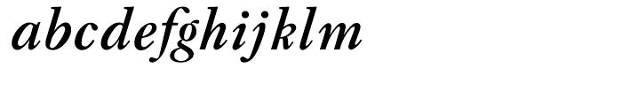 LTC Caslon Bold Italic Font LOWERCASE