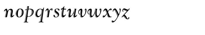 LTC Goudy Handtooled Italic Font LOWERCASE