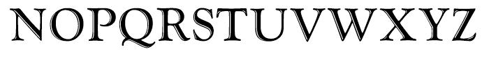 LTC Goudy Handtooled Regular Font UPPERCASE
