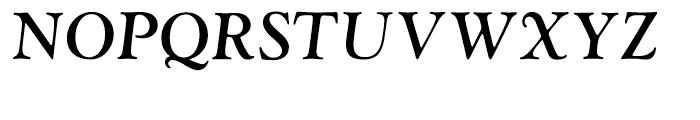 LTC Goudy Oldstyle Bold Italic Font UPPERCASE