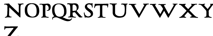 LTC Hadriano Regular Font UPPERCASE