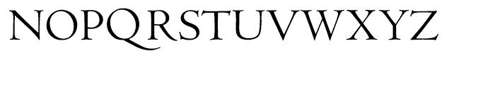 LTC Metropolitan Small Caps Font UPPERCASE