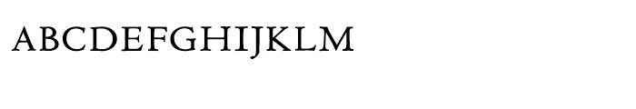 LTC Metropolitan Small Caps Font LOWERCASE