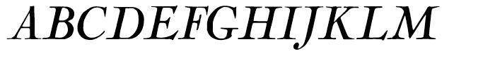 LTC Nicolas Cochin Italic Font UPPERCASE