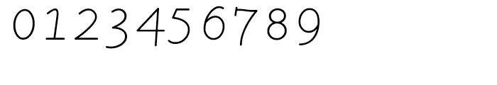 LTC Remington Typewriter Italic Font OTHER CHARS