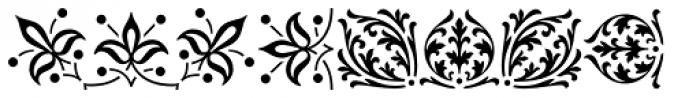 LTC Archive Ornaments Font UPPERCASE