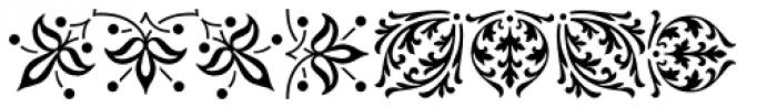 LTC Archive Ornaments Font LOWERCASE