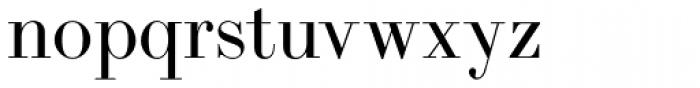 LTC Bodoni 175 Regular Font LOWERCASE