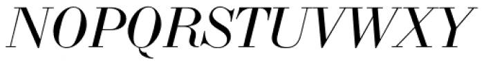 LTC Bodoni 175 Small Caps Italic Font UPPERCASE