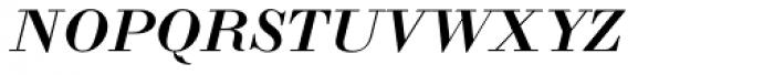LTC Bodoni 175 Small Caps Italic Font LOWERCASE