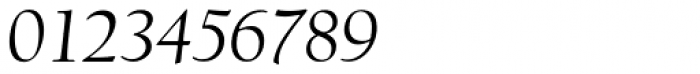 LTC Californian Display Pro Italic Font OTHER CHARS