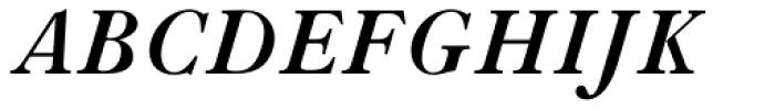 LTC Caslon Long Bold Italic Font UPPERCASE
