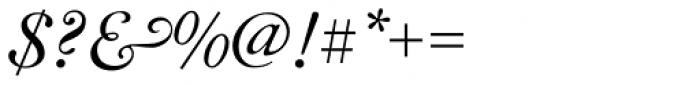 LTC Caslon Long Swash Font OTHER CHARS