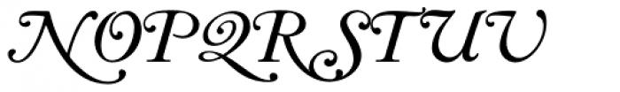 LTC Caslon Long Swash Font UPPERCASE