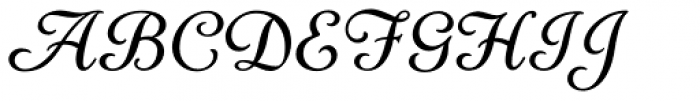 LTC Cloister Cursive Font UPPERCASE