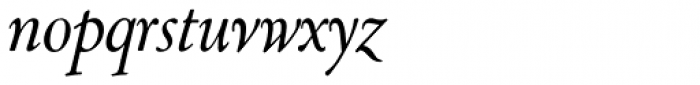 LTC Cloister Cursive Font LOWERCASE