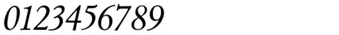 LTC Cloister Italic Font OTHER CHARS