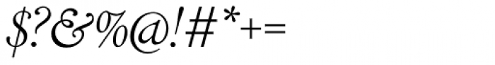 LTC Cloister Light Cursive Font OTHER CHARS