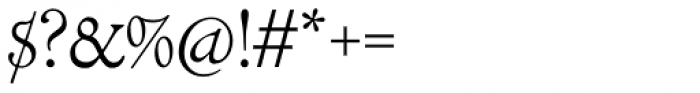 LTC Cloister Light Font OTHER CHARS