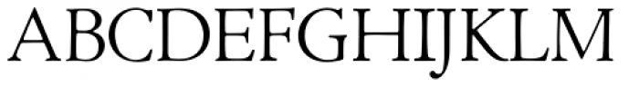 LTC Cloister Light Font UPPERCASE