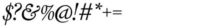 LTC Cloister Pro Italic Font OTHER CHARS