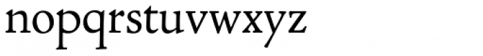 LTC Cloister Regular Font LOWERCASE