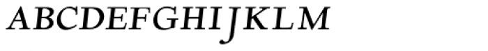 LTC Deepdene Italic SCOSF Font LOWERCASE