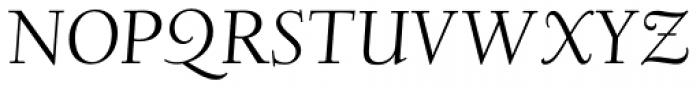 LTC Deepdene Italic Font UPPERCASE