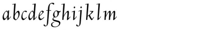 LTC Deepdene Italic Font LOWERCASE