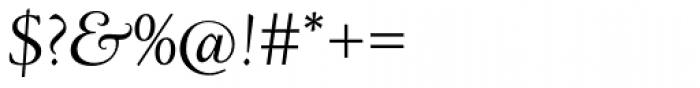 LTC Deepdene Pro Italic Font OTHER CHARS