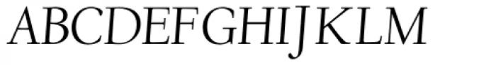 LTC Deepdene Pro Italic Font UPPERCASE