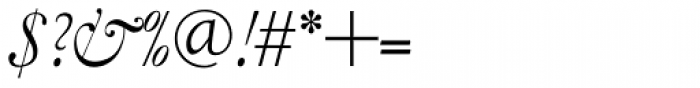 LTC Garamont Display Italic Swash Font OTHER CHARS