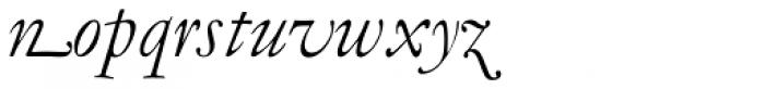 LTC Garamont Display Italic Swash Font LOWERCASE