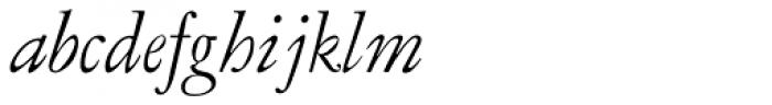 LTC Garamont Display Italic Font LOWERCASE