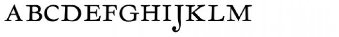 LTC Garamont Display Smallcaps Font LOWERCASE