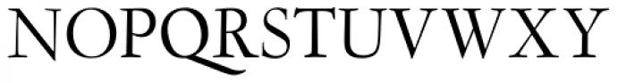 LTC Garamont Display Font UPPERCASE