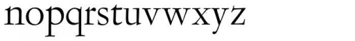 LTC Garamont Display Font LOWERCASE