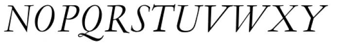 LTC Garamont Pro Display Italic Font UPPERCASE