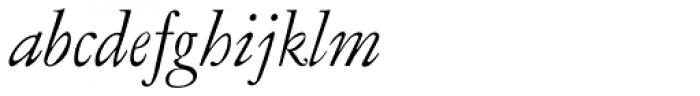 LTC Garamont Pro Display Italic Font LOWERCASE