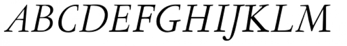 LTC Garamont Text Italic OSF Font UPPERCASE