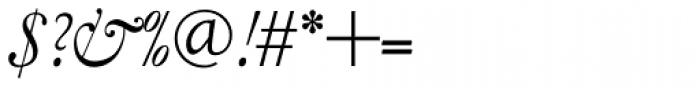 LTC Garamont Text Italic Swash Font OTHER CHARS