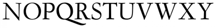 LTC Garamont Text OSF Font UPPERCASE
