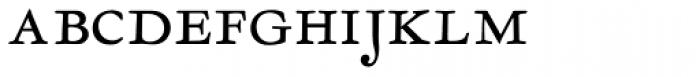 LTC Garamont Text Smallcaps Font LOWERCASE