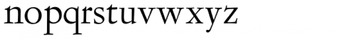 LTC Garamont Text Font LOWERCASE