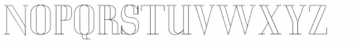 LTC Glamour Hairline Engraved Font UPPERCASE